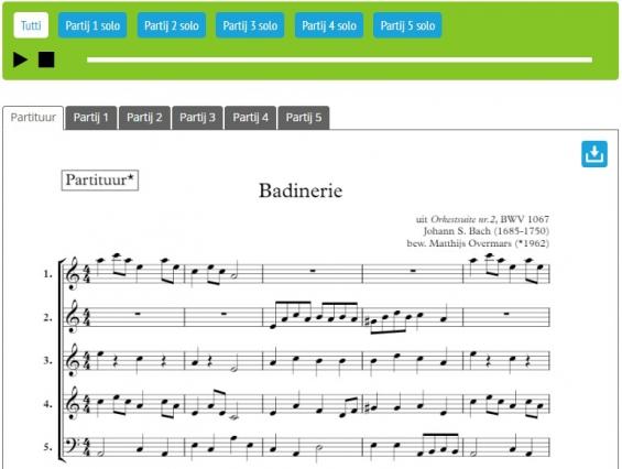 Screenshot Badinerie - speelstuk