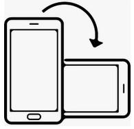 Screenshot horizontale mobiel
